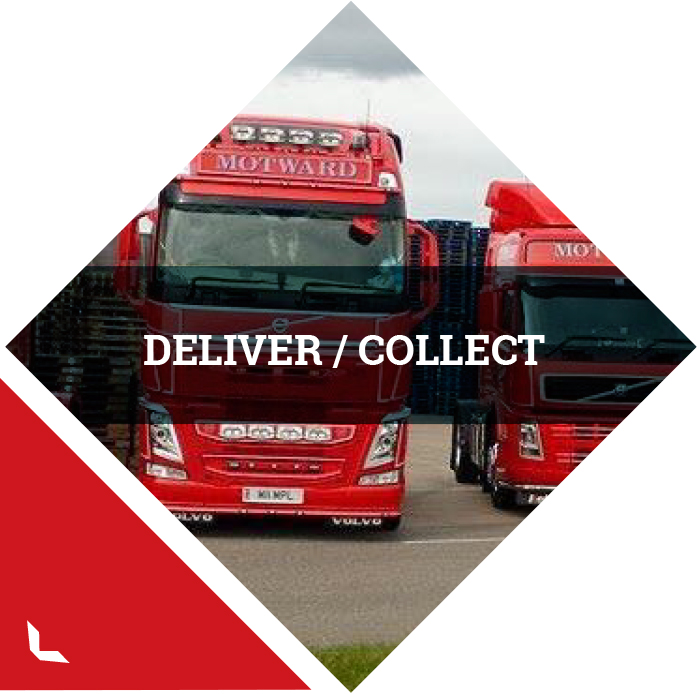 Pallet Delivery and Collection Services Cambridgehire